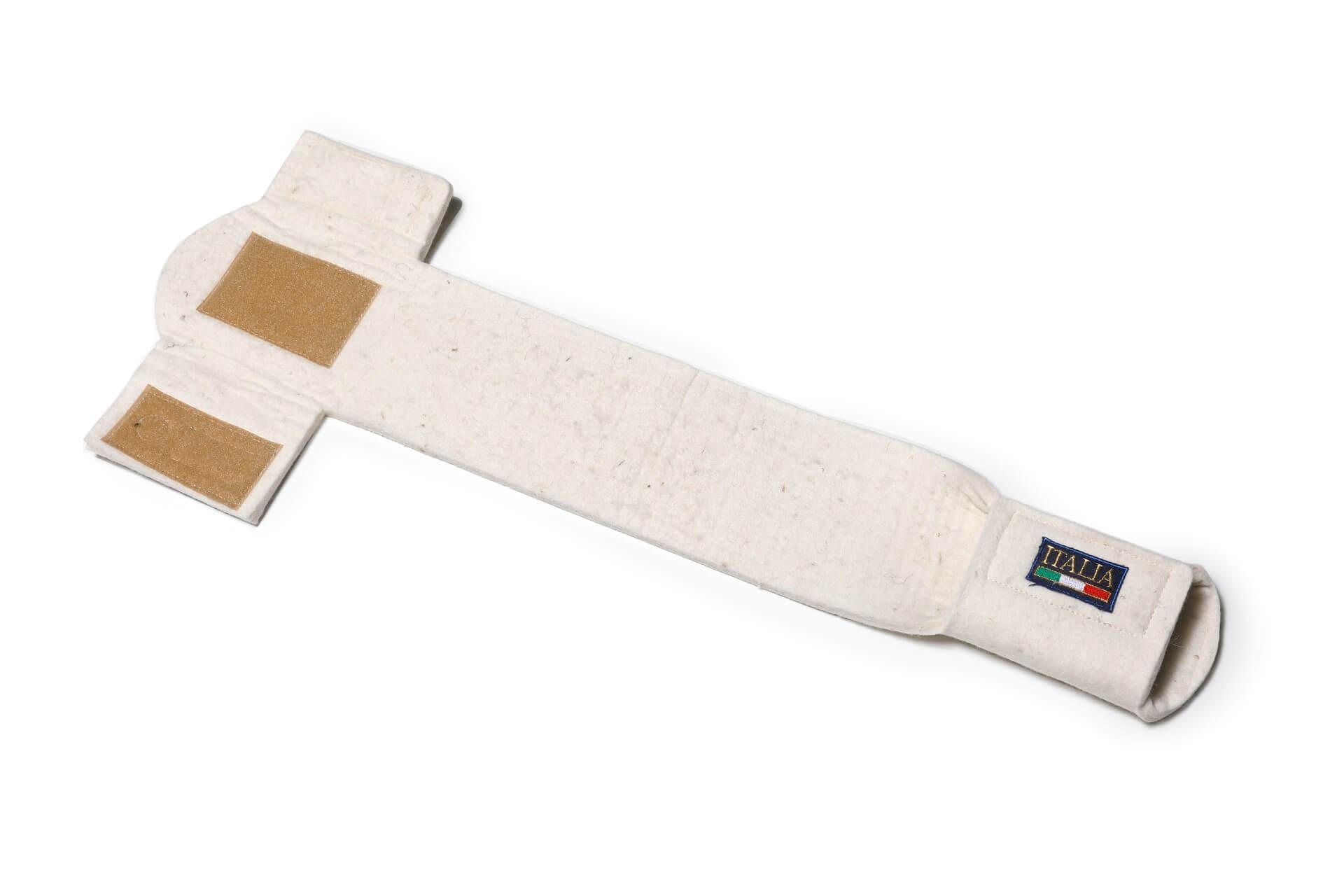 Ricambio per sottopancia in feltro bianco | 246 Reiner Professional